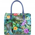 6000 blu Gilda Tonelli women summer bag 2014 with flowers